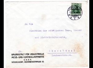 Stempel-Kuriosum: 12.12.12 auf Bedarfsbrief