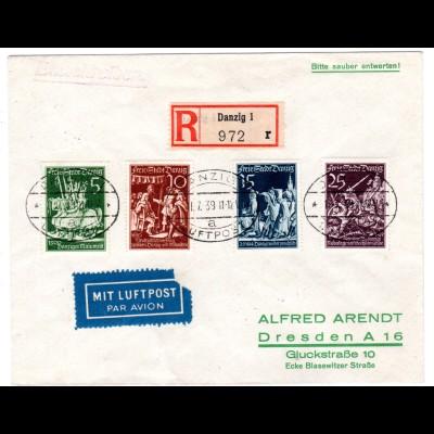 Danzig: Satzbrief (Wiedervereinigung mit Preußen)