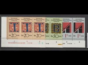 DDR, Buchkunst 89 mit DV, postfrisch