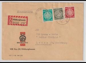 DDR: Einschreib-Dienstbrief 1959