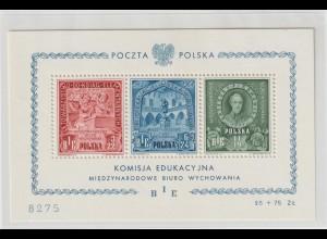 Polen Block zur polnischen Erziehungskommission, **