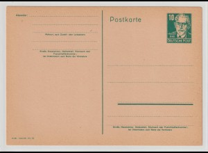 DDR-Ganzsache P40/02, ungebraucht