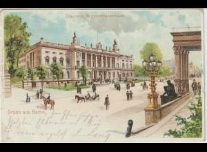 Berlin / Litho Das neue Abgeordnetenhaus