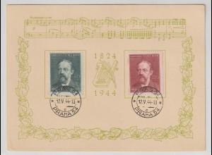 B&M; Schmuck-Karte Smetana; Ersttag