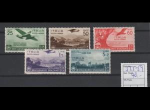 Italien: Flugpostmarken 2000 Jahre Horaz; sauber entfalzt