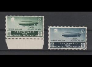 """Italien: """"Zeppelin unter Beschuss"""", postfrisch **"""