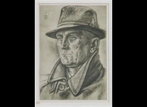 Willrich-Karte: Dr. Neumann, ehem. Führer der Memeldeutschen