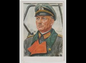 Willrich-Karte: Generaloberst Guderian