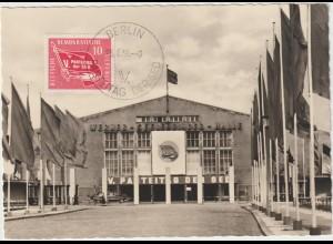 Parteitags-Maximumkarte 1958; Ersttag