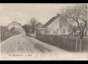 Alt Buchhorst i.d. Mark - Dorfstraße