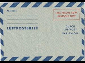 Luftpostfaltbrief LF 3, ungebraucht