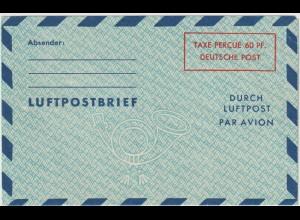 Luftpostfaltbrief LF 4, ungebraucht