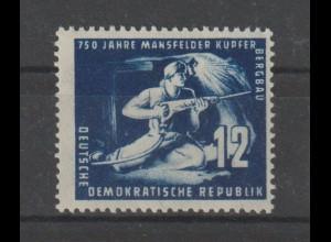 DDR: Kupferbergbau in b-Farbe; Befund Paul