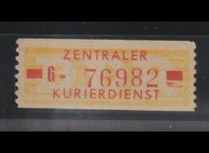 ZKD-Billettstreifen 18 II G, original, **