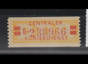ZKD-Billettstreifen 19 II G, original, **
