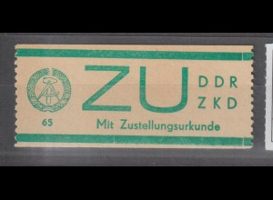 ZKD-Billettstreifen: E 1, **