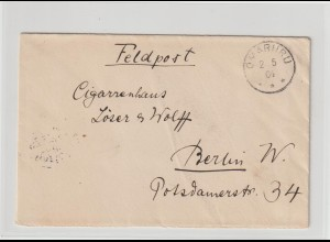 DSW: Feldpostbrief von OMARURU nach Berlin, 1904