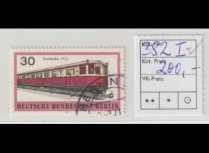 Berlin Stadtbahnmarke mit seltenem PF I, gest., tiefstgeprüft Schlegel