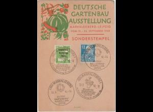 """Ereigniskarte """"Deutsche Gartenbau Ausstellung 1948"""""""