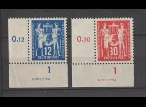 DDR-Druckvermerke: Postgewerkschaft (DV)
