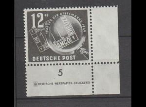DDR-Druckvermerke: Tag der Briefmarke 1949 (DZ)