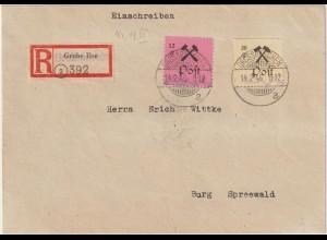 Großräschen Einschreib-Brief