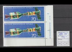 DDR-Druckvermerke::Sojus-Apollo (70 Pfg.) (1975)