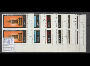 DDR-Druckvermerke::Alte Uhren (1975)