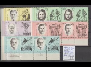 DDR-Druckvermerke: Antifa-Sportler Hauptwert 40 Pfennig (1963)