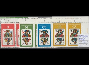 DDR-Druckvermerke: Spielkarten (1967)