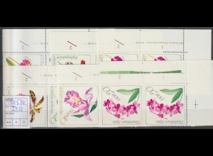 DDR-Druckvermerke: Orchideen (1968)