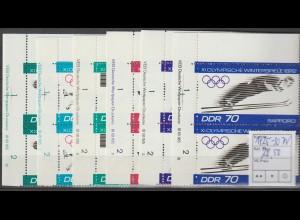 DDR-Druckvermerke:Olympische Spiele (1971)