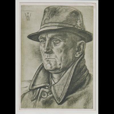 Willrich-Karte: Dr. Neumann, Führer der Memeldeutschen