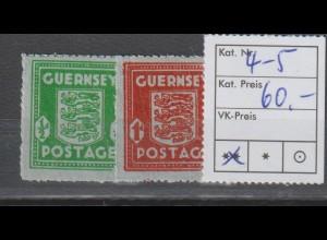 Dt. Besetzung 2. WK: Guernsey 4 - 5, **