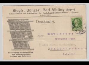 Reklamekarte: Dachziegel-Sturmklammer-Fabrikation