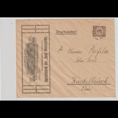 """Reklameumschlag """"Held-Ackergeräte"""" Gaukönigshofen"""