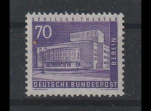 Bertlin: Stadtbilder 70 Pfennig Rollenmarke **
