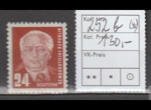 DDR Pieck I: 24 Pfg. in b-Farbe, **, geprüft