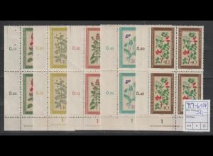 DDR-Druckvermerke: Heilpflanzen 1960, **
