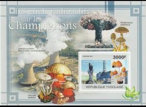 Pilze; Togo Block 2011, **