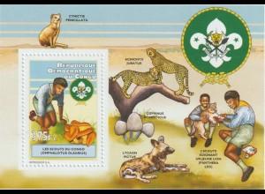 Pilze; Kongo Blocksatz 2011, **
