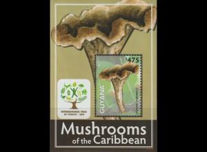 Pilze; Guyana Block (Jahr der Wälder) 2011, **