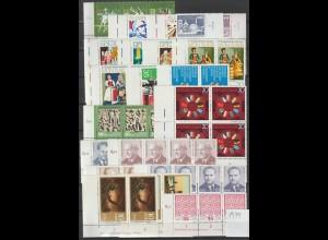 DDR Druckvermerke: Lot aus Jahrgang 1974