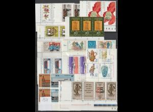 DDR Druckvermerke: Lot aus dem Jahrgang 1981