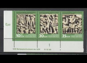DDR Druckvermerke: Tag der Philatelisten (1974)