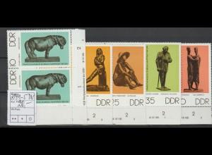 DDR Druckvermerke: Bronzeplastiken 1976