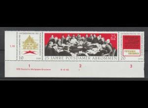 DDR Druckvermerke: Potsdamer Abkommen (1970)