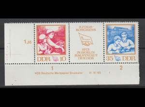 DDR Druckvermerke: FDGB-Kongress (1972)