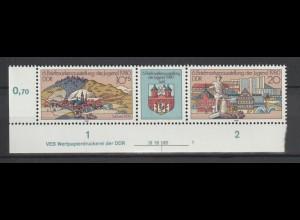 DDR Druckvermerke: Briefmarkenausstellung (1980)