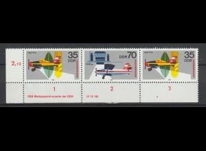 DDR Druckvermerke: 25 Jahre Interflug (1980)